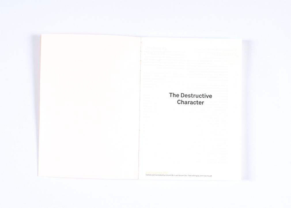 The Destructive Character